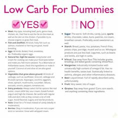 Low Carb for dummies