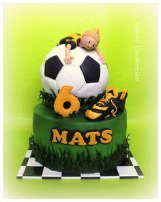 Soccer cake! by Karen Dodenbier