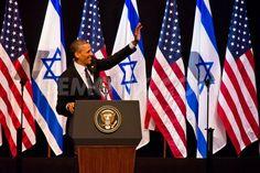 President Obama addresses young Israeli students in Jerusalem