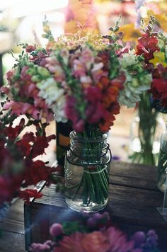 market flowers by Catherine K Chen
