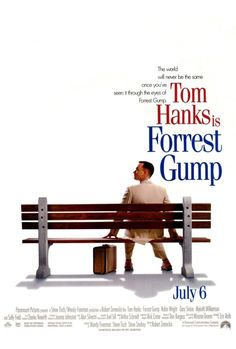 FORREST GUMP - with Tom Hanks in the leading role