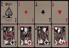 . TRAGIC ROYALTY playing cards