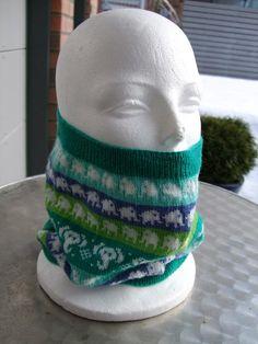 Knitting - elephant pattern.