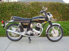 The 1973 Norton 850 Commando - that's in the garage, too!