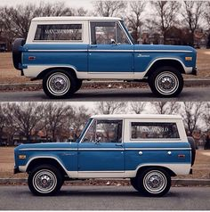 Classic Bronco, Classic Ford Broncos, Classic Ford Trucks, Classic Cars, Cool Trucks, Cool Cars, Pickup Auto, Broncos Pictures, Cj Jeep