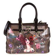 Nicole Lee Sunny 19-inch Overnighter Fashion Duffel Bag