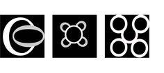 Onstabiele relatie voorgrond-achtergrond met de letter o en c. Geen goede compositie.