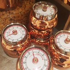 Living in copper at Anthropologie  #anthrofave ...copper kitchen timers