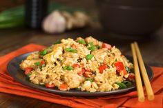Arroz frito (receta china) -Mejor con Salud-