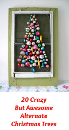 """Christmas tree decorating – do you stick with a theme, let the kids do it or get creative with the tree itself? The options are endless. Here are some of most unique, awesome and even crazy """"trees"""" we've found this season to inspire you."""