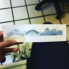 New Travel Tattoo Australia Ideas Oz Tattoo, Tattoo Sydney, Bridge Tattoo, Australia Tattoo, Bridge Piercing, Travel Journal Scrapbook, Disney Tattoos, New Travel, Sydney Harbour Bridge