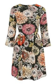 **Floral Skater Dress by Glamorous Tall