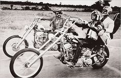 Dennis Hopper, Peter Fonda, and Jack Nicholson