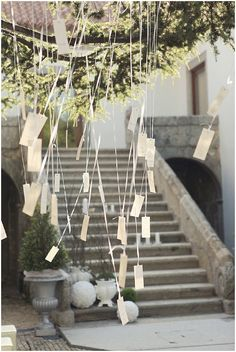 Seating Plan or have guests hang wishes collected ahead of time by bridesmaid via email then type out