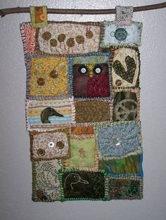 Craftster project that would be awesome! Maybe not birds - cats and dragons?