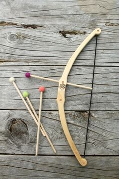Needle and Nail - B - Bow & Arrow Set $59 with 4 arrows