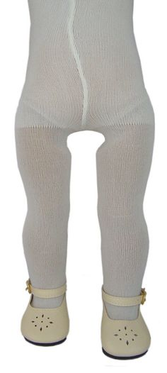 "Ivory Tights made for 18/"" American Girl Doll Clothes Accessories"