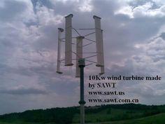 Wind turbine made by SAWT www.sawt.us   www.sawt.com.cn