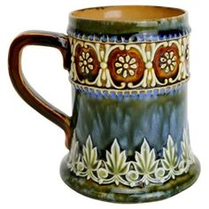 Check out this item at One Kings Lane! Antique Doulton Lambeth Mug