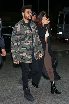 Selena Gomez And The Weeknd At Airport In Sao Paulo