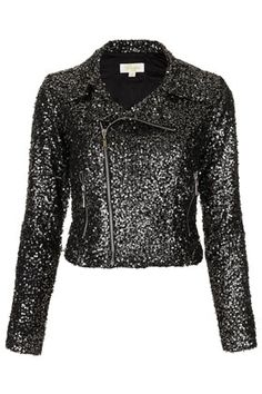 **Veste Disco à paillettes Goldie