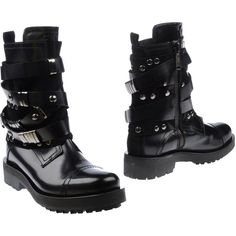 C'n'c' Costume National Ankle Boots (280 AUD) ❤ liked on Polyvore