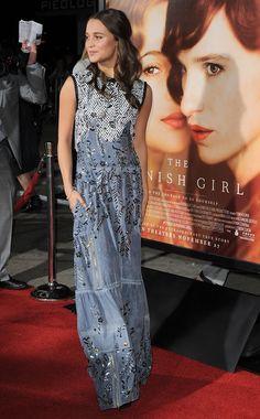 Alicia Vikander | The Danish Girl LA premiere, November 2015.