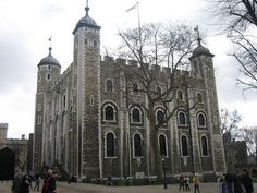 The Tower of London.  Former prison and execution site of second wife of Henry the VIII, Anne Boleyn, who was beheaded in the tower....