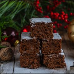 Quick gingerbread from vegan tin- Ruckzuck Lebkuchen vom Blech vegan Simple gingerbread from a tin vegan healthy… - Healthy Christmas Recipes, Vegan Christmas, Vegan Recetas, Cupcake Recipes, Dessert Recipes, Brownie Recipes, No Bake Chocolate Cake, Tartiflette Recipe, Cookies Healthy