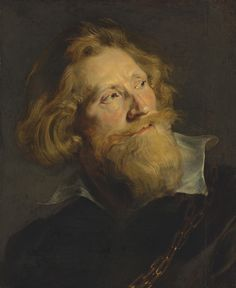Peter Paul Rubens - Portrait of a Bearded Man - High Resolution Photo