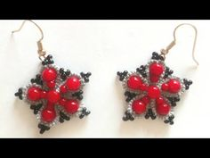 Tatting Pattern - Tatting Frivolite Earrings1 - YouTube