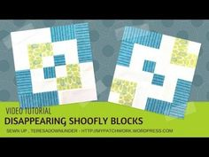 Video tutorial: 2 Bento box quilt blocks – quick and easy | Sewn Up