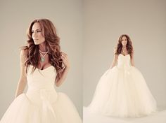 Convertible Wedding Dress ♥ Removable Skirt