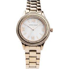Наручные часы женские Anne Klein, цвет: золотистый, розовый. 2006MPRG