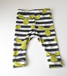 Organic baby boy clothes , Baby shower gift , Baby boy pants , Photography props newborn baby, Moose and stripes pattern on Etsy, $22.00