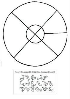 Circle Tangram 2 - Solutions