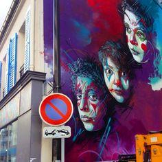 STREET ART UTOPIA » We declare the world as our canvas » Street Art by C215 at Rue Pelleport- Paris 20ème, France 1