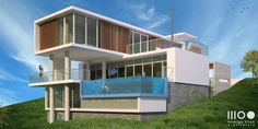Residência Bellini Richard Meier, Bellini, Mansions, House Styles, Home Decor, Architecture Office, Log Projects, Future House, Houses