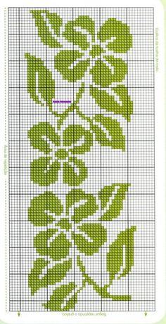 Anaide Ponto Cruz Cross Stitch Bookmarks, Cross Stitch Borders, Cross Stitch Rose, Simple Cross Stitch, Cross Stitch Flowers, Cross Stitch Charts, Counted Cross Stitch Patterns, Cross Stitch Designs, Cross Stitching