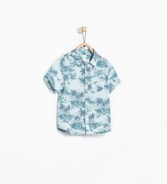 Image 1 of PALM TREE SHIRT from Zara