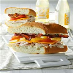Subs Recipe- Recipes On balmy fall days, this sweet and smoky sandwich ...
