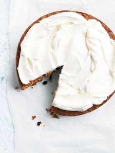 Flourless carrot cake w cream cheese icing ♥