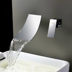 Single Handle Wall Mount Tub Faucet Widespread Bathroom Faucet, Lavatory Faucet, Shower Faucet, Bathtub Faucets, Taps Bath, Bathroom Basin, Bath Shower, Brass Faucet, Brass Bathroom