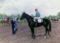 Nearctic. Champion son of Nearco bred by E.P. Taylor. Sire of the great Northern Dancer along with many other quality colts and fillies who have continued the tradition of the legacy. Icecapade is another of his sons who has had a significant influence on the thoroughbred breed.