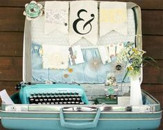 Inspiration Station | Vintage Suitcases part 2 | Uses and Inspiration