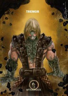 Mortal Kombat X Tremor-Aftershock Variation by Grapiqkad