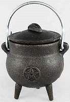 ICM3P: Small Pentagram Cast Iron Cauldron