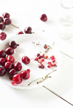 Cherries contain melatonin -a natural pain reliever- which helps to regulate sleep cycles