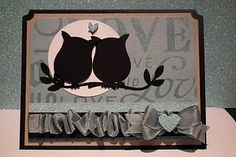 Friday, January 28, 2011PPA 78 Owls, Ribbon, and Bows - Oh My! Loving owls on branch using StampinUp punch.