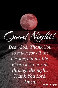 Bible Verses For Women, Bible Verses Quotes, Night Time, Good Night, Thank You Lord, Night Quotes, Dear God, Amen, My Life